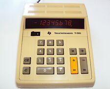 Vintage 1972 Texas Instruments Ti-3000 Electronic Desktop Calculator - Good Cond