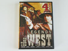 LEGENDS OF THE WEST One Eyed Jacks/Sundowners/Big Trees/Vengeance Valley (DVD)