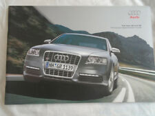 Audi A6 & S6 Pricing & Specification Guide brochure May 2007