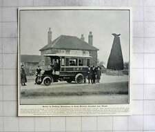 1905 Great Western Omnibus Near Slough, The Yew Tree Pub