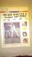 libro SYLVIE VARTAN JOHNNY HALLYDAY AUDREY SHEILA CONNIE FRANCIS 1960 MUSICA