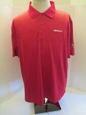 Payne Stewart Cup Isleworth Striped Large Red Striped Pullover Casual Shirt New