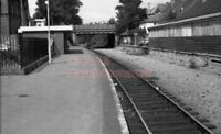 PHOTO  PENARTH TOWN RAILWAY STATION VIEW OF THE MUCH REDUCED IN 1976 1