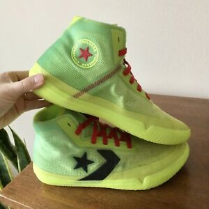 Converse All Star Pro BB Glow in Dark Bold Lime Black Volt Nocturnal Size 10