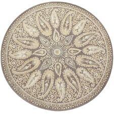 Pier 1 imports 6' x 6' Mersey Ivory Round Handmade Parsian Woolen Rugs & Carpet