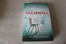 Pacjentka - Michaelides Alex -  POLISH BOOK - POLSKA KSIĄŻKA