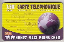 FRANCE  TELECARTE / PHONECARD  PREPAYEE .. 7€50 NET-UP PLANETE MAXI 12/03 +N°