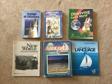 Abeka Gr 6 Language C, Science, History, Readers Homeschool Book Lot