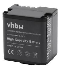 Akku für Garmin Virb X, X compact, XE 980mAh 3.8V Li-Polymer