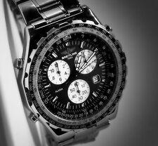 Breitling Navitimer Jupiter Pilot A59028 Quartz Watch Great Condition!
