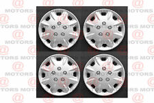 "Universal Replacement Wheel Covers Rim 14"" Hub Caps 4 Pcs Silver Accesories New"
