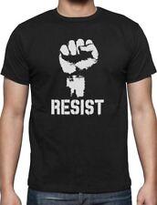 Resist Political Anti Political Protest Power Fist Anti Trump T-Shirt Politics S