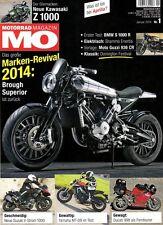 MO1401 + Test BMW S 1000 R + YAMAHA MT-09 + BROUGH Superior SS 100 + MO 1/2014