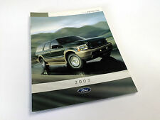 2003 Ford Excursion Brochure