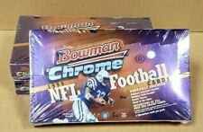 1999 BOWMAN CHROME FOOTBALL HOBBY BOX (UNOPENED, FACTORY SEALED)