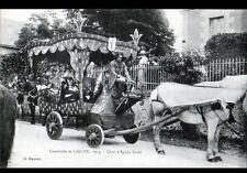 LIGUEIL (37) CHAR d'AGNES SOREL à la CAVALCADE en 1913