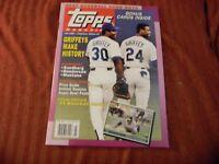 FALL 1990 Topps Magazine KEN GRIFFEY JR HENDERSON RYNO + 8 BONUS Cards + POSTER!