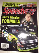 Speedway Illustrated Magazine Carl Edwards Formula March 2009 040717NONRH