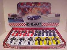 Pack of 12 Shelby Cobra 427 S/C Roadster 1965 Die-cast Car 1:32 Kinsmart 5 inch