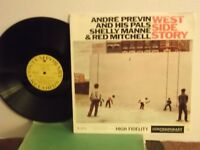 "Andre Previn,Shelly Manne,Red Mitchell,Cont.""West Side Story""US,LP,mono,jazz,M-"