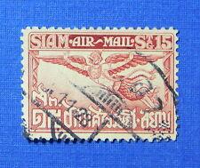 1930 THAILAND 15 SATANG SCOTT# C12 MICHEL# 187C USED                     CS21477
