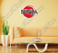 "Ninja Samurai Japanese Warrior Japan Wall Sticker Room Interior Decor 25""X20"""