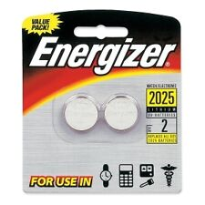 Energizer 2025BP-2 Lithium Button Cell Batteries