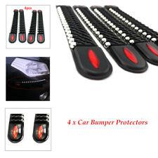 4Pcs/Set Decorate Car Bumper Corner Guard Protector Anti-collision Trim Strip