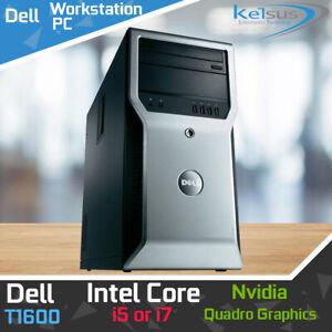 Fast Dell Desktop PC Core i5 i7 Office Computer Windows 10 Pro Desktop WiFi