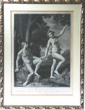 Gravure d'après Carlo Cignani/ Engraving 18th century