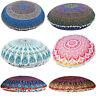 Indian Mandala Floor Pillow Case Boho Throw Cushion Cover Pouf Sham Home Decor T