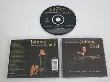 JOHNNY CASH/THE MAN IN BLACK(COLUMBIA MOOD CD35) CD ALBUM