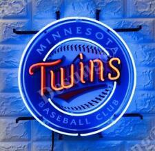 "New MinnesotaTwins Beer Artwork Neon Light Sign 17""x17"" Hd Vivid Printing"