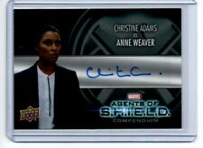 Marvel Agents of Shield Compendium Autograph Card AA-CA Adams/Weaver