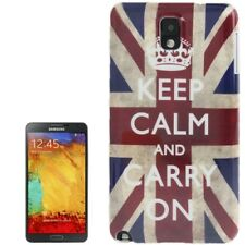 Smooth Hardcase für Samsung N9000 Galaxy Note 3 Hülle England Flagge Keep calm