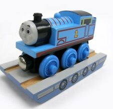 NEW IN BOX Wooden THOMAS LOST at SEA Tank Engine & RAFT Tank Engine Railway