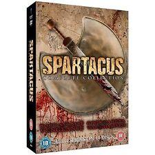 Spartacus - Complete Collection (DVD, 2013, 16-Disc Set, Box Set)