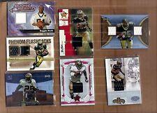 Reggie Bush GU & Rookie Jersey card lot,
