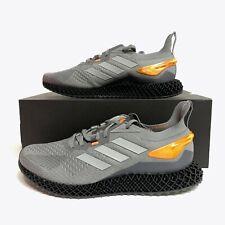 Adidas X90004D 4D Running Shoes Grey / Silver / Orange FW7091 Size 9-10.5