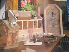 Holidays At Home Painting Book-Nielsen-Family Tree/Houses/Rabbits/Market/Angels