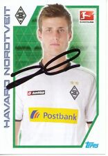 Havard Nordtveit  Borussia Mönchengladbach Topps Sticker 2012/13 signiert 402145