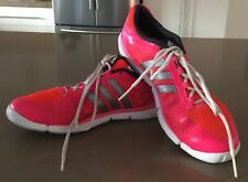 Pre-owned ADIDAS Pink & Orange Trainers/Runners Size US8.5/UK7/FR40.5