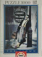 Puzzle 1000 pezzi, vintage, Clown, Quadro, Blues, Collezione EDUCA 1997, integro