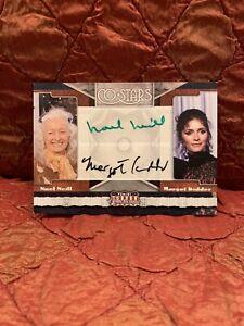2011 Panini Celebrity Americana MARGOT KIDDER NOEL NEILL Dual Auto Autograph !!!
