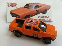 General Lee Dukes of Hazzard 78 Dodge pickup truck custom Hot Wheels