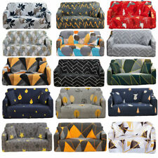 Print Sofa Couch Chair Covers Slipcover Slip Cover Furniture Stretch Elastic New