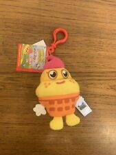 Moshi Monsters - Yellow Coolio - 93 - Small Plush Toy - New with Tags