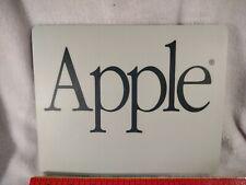 Vintage Apple Mouse Pad Gray Black used estate find