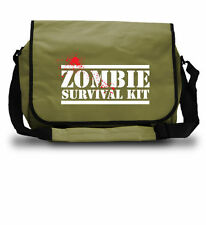 Zombie Survival Kit Borsa-Laptop Scuola College-Regalo di Natale