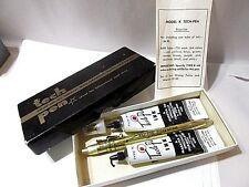 TECH PEN TYPE K INK COMPLETE USED IN BOX WRITES ON ALL SURFACES MARK-TEX NY